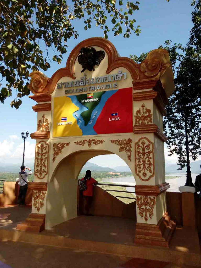 chiang rai - golden triangle tour - the stone gate