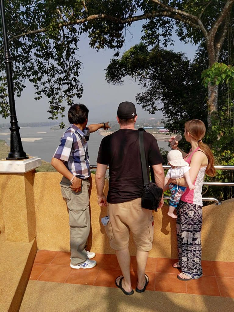 Chiang Rai - golden triangle tour - The stone gate viewpoint