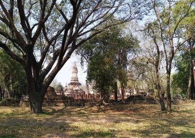 Si Satchanalai, historical park - wat suan kaeo uttayan yai