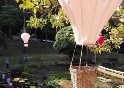 chiang mai, queen sirikit botanic garden - garden lake