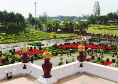 chiang mai, royal flora ratchaphruek - temple garden