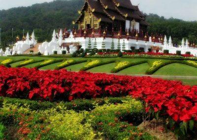 chiang mai, royal flora ratchaphruek - Ho Kham Royal Pavilion