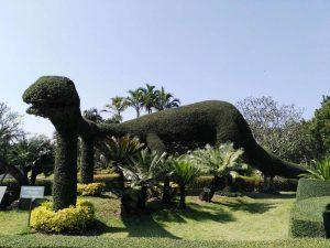 chiang mai, tweechol botanic garden - dino