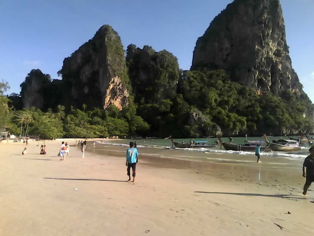Railay Beach West - Krabi Thailand