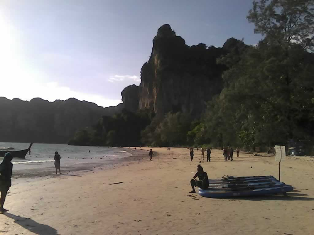 West Railay Beach in Krabi Thailand