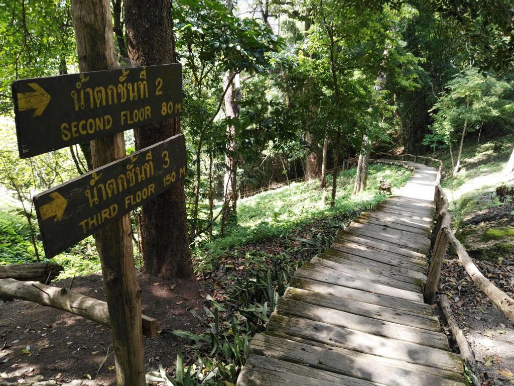 monk trail chiang mai wegbeschreibung