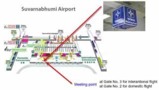 Bangkok Airport Transfer Meeting Points - Suvarnabhumi Airport