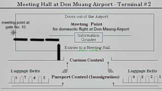 Bangkok Airport Transfer Meeting Point - Don Meaung Domestic
