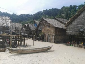 Moken Village at Surin Islands