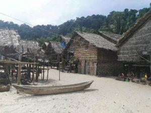 Moken Village at Surin Islands