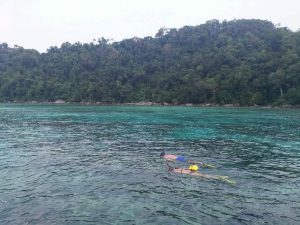 Snorkeling at Mae Yai