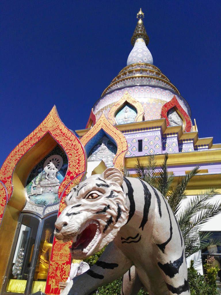 chiang mai, Tha Ton - Wat Tha Ton