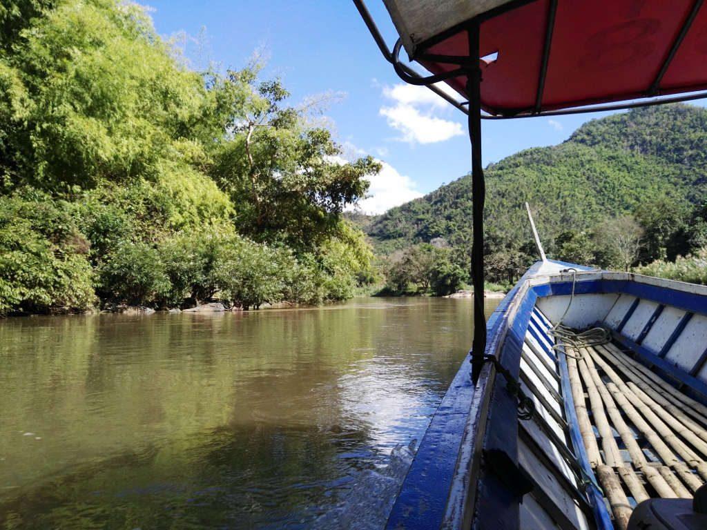 chiang mai, Mae Kok river - at the Maekok River