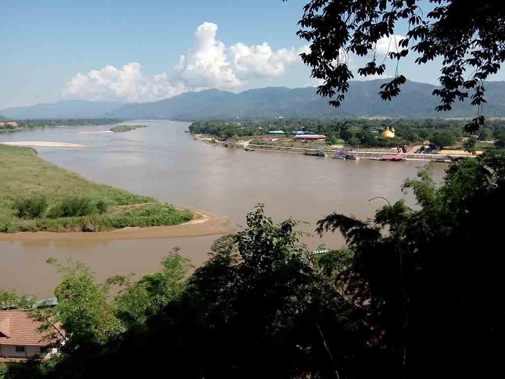 chiang rai,golden triangle-river view