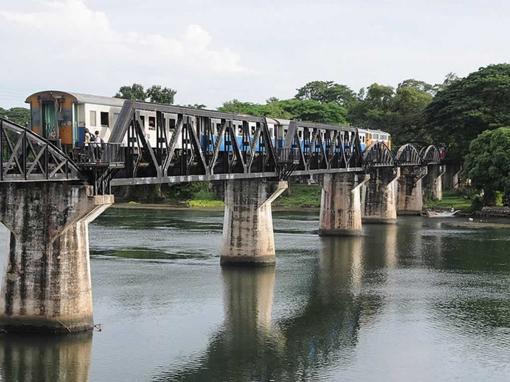 Bridge over the River Kwai, Kanchanaburi - Thailand