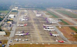 Pattaya Airport Areal View