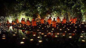 Visakha Bucha Day ceremony - Thailand Buddhist rituals