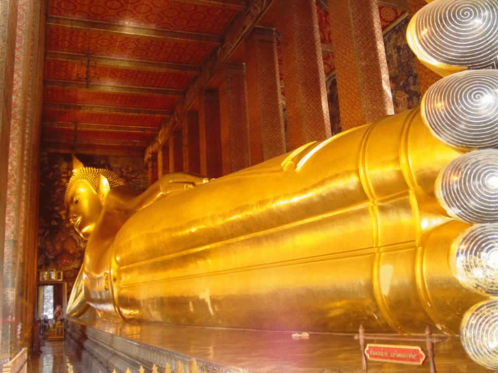 The Reclining Buddha at Wat Pho