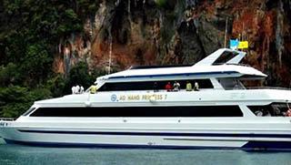 Phi Phi Ferry from Krabi to Phi Phi Island