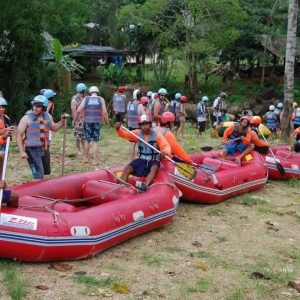 Krabi Rafting Tours - Getting Ready