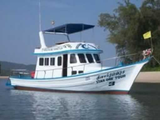 Krabi Fishing Tours - Fishing Boat