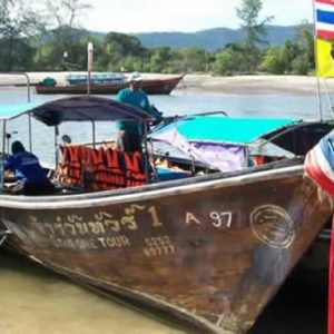 Krabi Fishing Tours - Longtail Boat