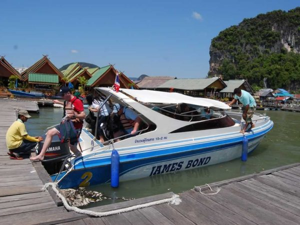 Krabi Phang Bay Speed Boat