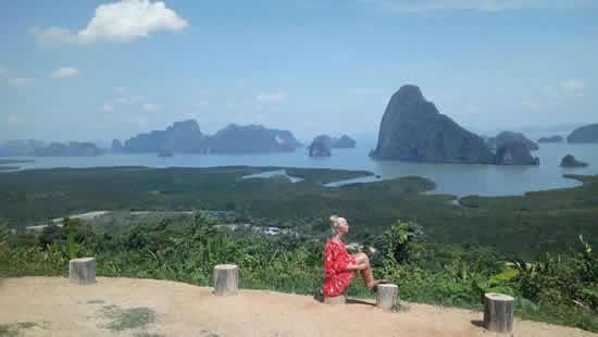 обзорная площадка залива Пханг Нга