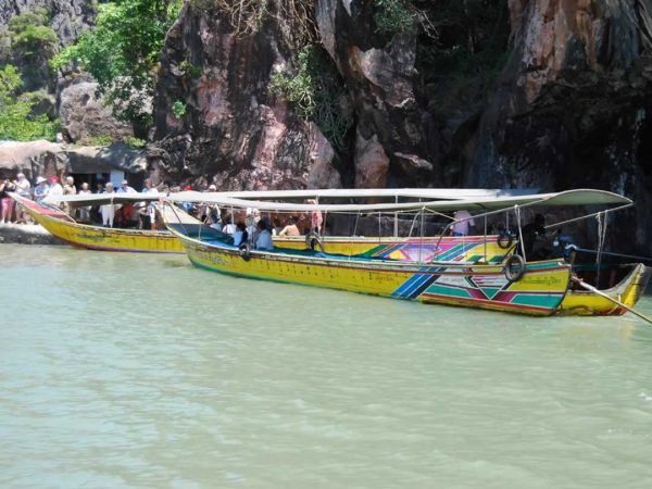 Phang Nga Bay by Longtail Boat