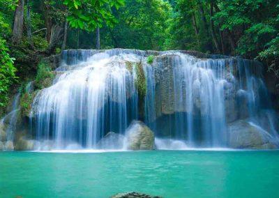 Erawan National Park Waterfall