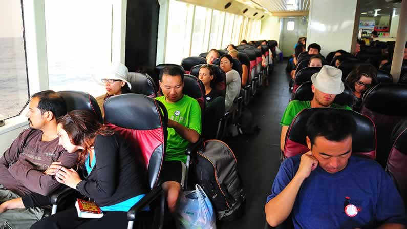 Krabi to Koh Phangan Transfers - Ferry Standard Class
