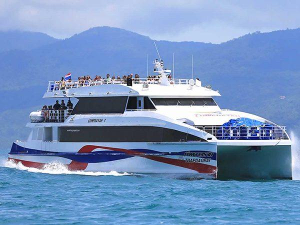 Lomprayah Transfers by High Speed Ferry