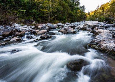 Op Khan national park water stream