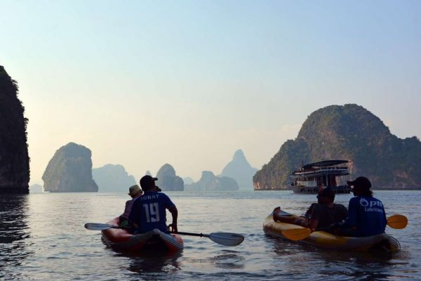 Phang Nga Bay Sea Canoe - Amazing Landscapes