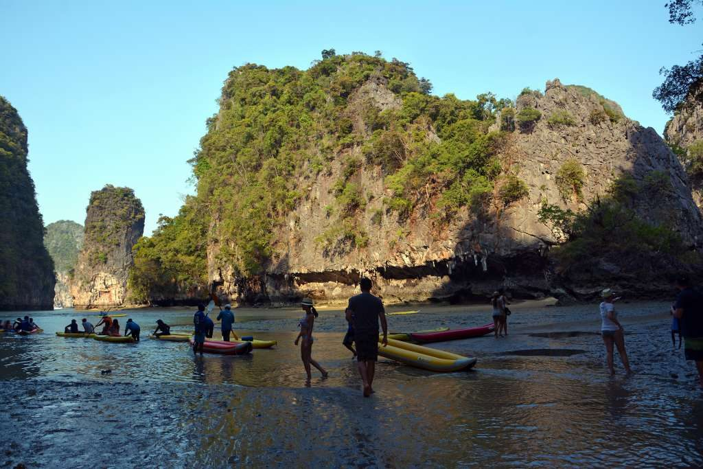 Phang Nga Bay Sea Canoe - Hong Island