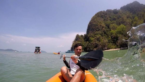 Phang Nga Bay Sea Canoe - Self Paddling