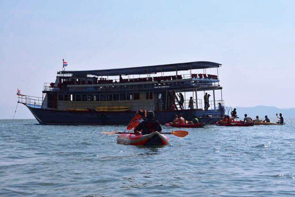 Phang Nga Bay Sea Canoe -The Boat