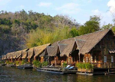 Sai Yok Floating raft Resort