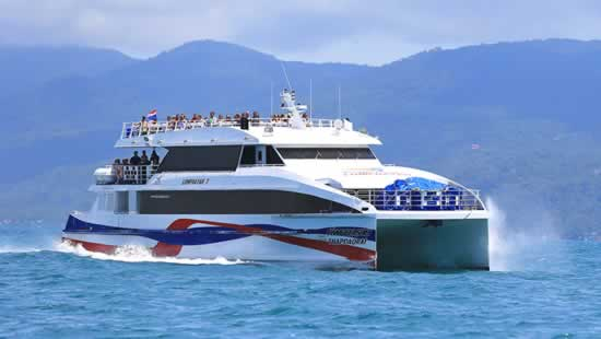Phuket To Koh Phangan with Lomprayah High Speed Ferry & Bus