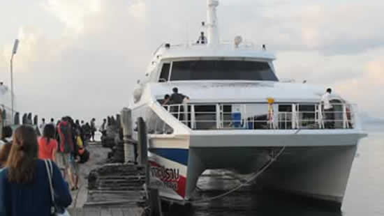 Phuket To Koh Tao with Lomprayah High Speed Ferry & Bus