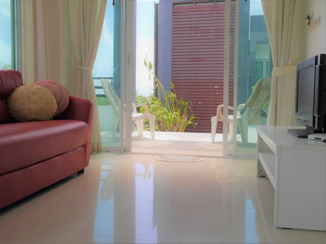 Kata Bella Serviced Apartments - Living Room