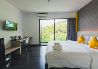 Deluxe Room with Balcony at Wake Up Ao Nang