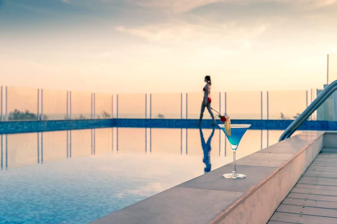 Chanalai Hillside Resort Roof top swimming pool