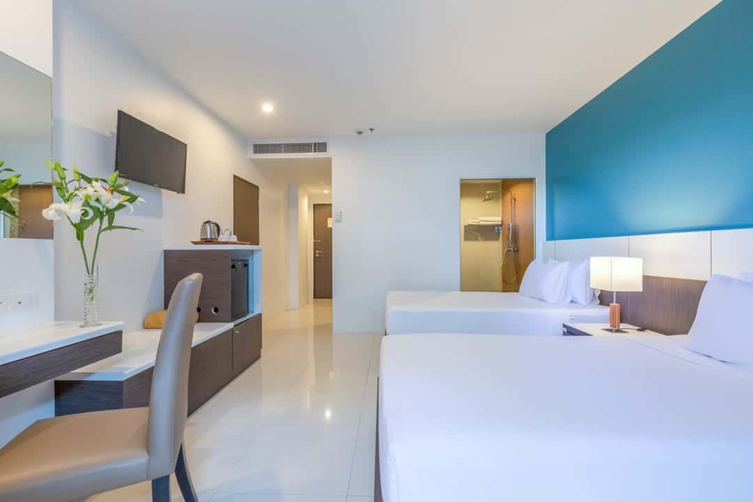Chanalai Hillside Resort Superior pool view