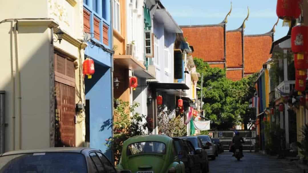 Phuket Sightseeing - Soi Romanee in Old Town