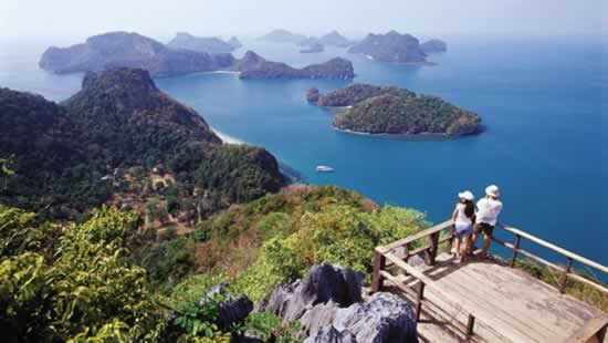 Parc National d'Ang Thong, Thaïlande