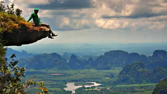 Falaise de Khao Khanap - Symbole de Krabi, Thaïlande
