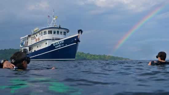 Bateau mini-croisières de plongée aux îles Similans